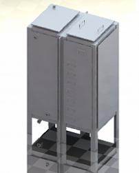 Бак для воды прямоугольный БВ-2 Серия 07.900-2