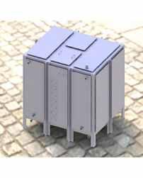 Бак для воды прямоугольный БВ-6 Серия 07.900-2
