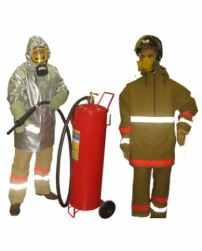 Комплект защитной экипировки пожарного-добровольца (КЗЭП-Д) «Шанс»-Д»