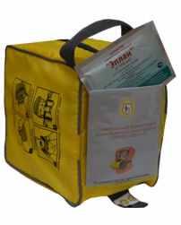 УФМС «Шанс»-Е с полумаской или четвертьмаской в комплекте с салфеткой