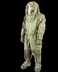 Костюм изолирующий химический КИХ-5М