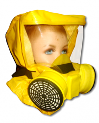 Универсальный фильтрующий малогабаритный самоспасатель (УФМС) «Шанс» -Е с четвертьмаской (детская модель)