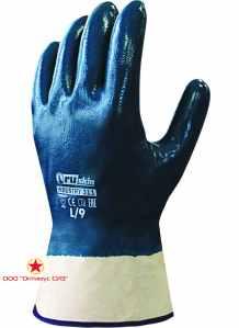 Нитриловые перчатки для тяжелых работ Ruskin® Industry 311 фото
