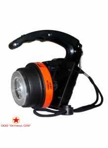 Фара ручная взрывозащищенная светодиодная модернизированная ФР-ВС м «Экотон-5» (с з/у) фото