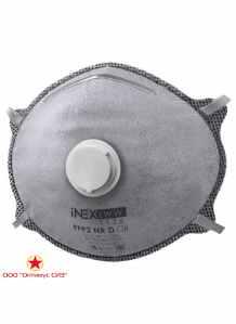 Полумаска фильтрующая iNEХ LWW 1126 FFP2 NR D c клапаном выдоха
