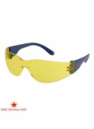 Очки защитные желтые 3M 2722 фото