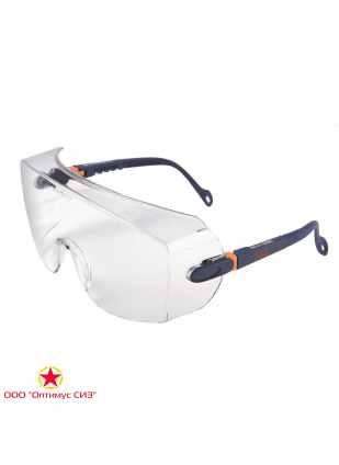 Очки защитные прозрачные 3M 2800 фото
