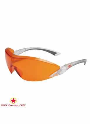 Очки защитные оранжевые 3M 2846