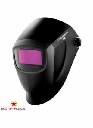 Лицевой щиток сварщика 3M Speedglas 9000, с автоматическим светофильтром 9002NC, с регулировкой степени затемнения 3/8-12