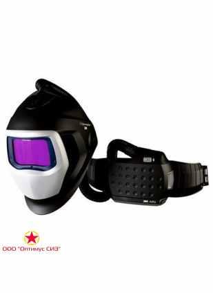 Лицевой щиток сварщика 3M™ Speedglas® SG 9100 AIR со светофильтром 9100XX и блоком ADFLO