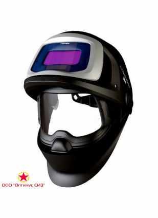 Лицевой щиток сварщика 3M™ Speedglas® SG 9100 FX со светофильтром SG 9100V, 5/8/9-13 Din