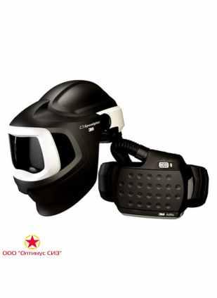 Лицевой щиток сварщика 3M™ Speedglas® 9100 MP Air с Блоком Adflo без светофильтра