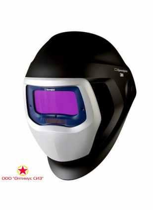 Лицевой щиток сварщика 3M™ Speedglas® SG 9100 со светофильтром Speedglas 9100V, 5/8/9-13 Din