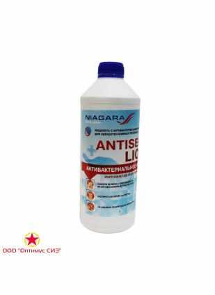 """Антисептик для рук с антибактериальным эффектом """"Antiseptic Liquid"""" 1,5 л. ПНД с крышкой"""