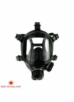 Лицевая маска для противогаза БРИЗ-4301 (ППМ-88) фото