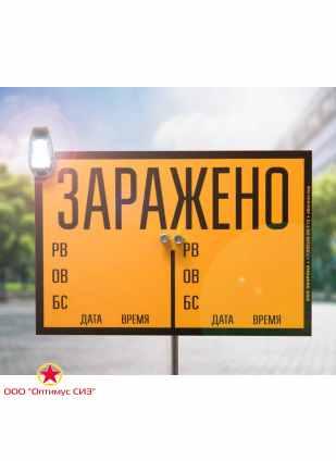 Комплект знаков ограждения КЗО-1М