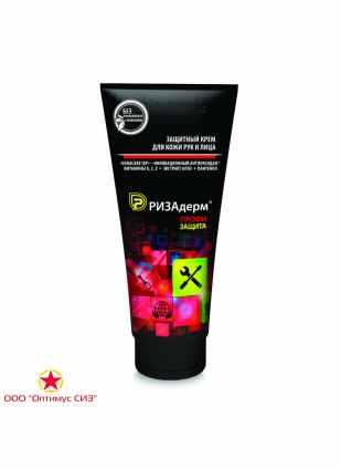 Защитный крем гидрофильного действия для кожи рук и лица «РизаДерм® Профи. Защита»