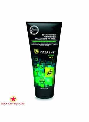 Регенерирующий интенсивно увлажняющий крем для особо сухой кожи рук и лица «РизаВит® Софт. Уход» фото