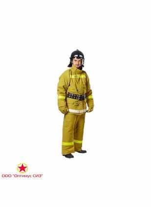 """Боевая одежда пожарного БОП-1 Ткань """"ТТОС"""", тип У, Вид Т вид Б"""