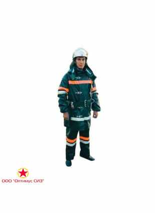 Боевая одежда пожарного БОП-3 Тип У, ВИК-Т, ОСП, вид Б