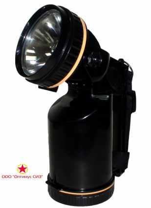 Профессиональный переносной галогенный фонарь фос3-5/6 (без з/у) фото
