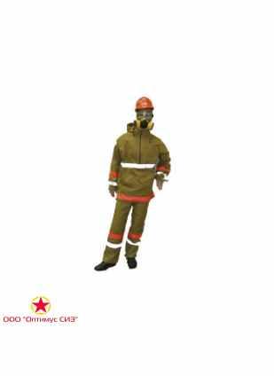 Костюм термостойкий комплекта защитной экипировки пожарного-добровольца (КЗЭПД) «Шанс»-Д