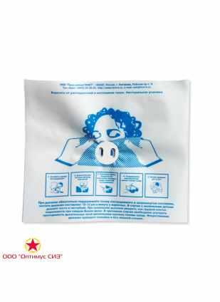Устройство-маска для искусственной вентиляции лёгких рот-устройство-рот ФЭСТ фото