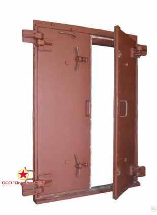 Ворота защитно-герметические, тип ВУ-I-1
