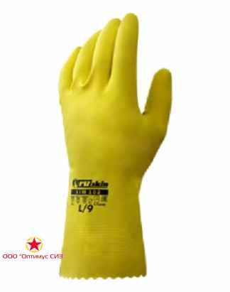 Химически стойкие резиновые перчатки Ruskin® Xim 102 фото