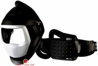 Лицевой щиток сварщика 3M™ Speedglas® SG 9100 AIR c блоком ADFLO без светофильтра фото