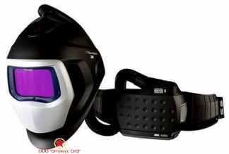 Лицевой щиток сварщика 3M™ Speedglas® SG 9100 AIR со светофильтром 9100XX и блоком ADFLO фото