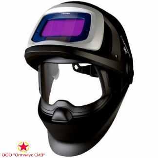 Лицевой щиток сварщика 3M™ Speedglas® SG 9100 FX, со светофильтром SG 9100X с 5/8/9-13 Din фото