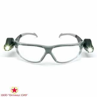 Очки защитные LED LIGHT VISION прозрачные 3M 11356-00000M