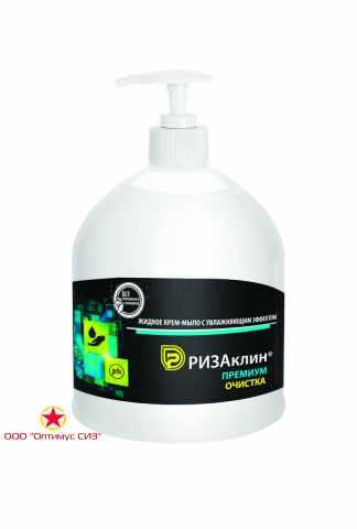Жидкое крем-мыло с увлажняющим эффектом «РизаКлин® Премиум. Очисткa» фото