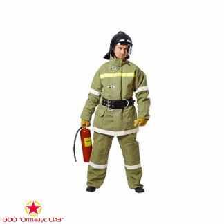 Боевая одежда пожарного БОП-2 СЗО ТВ Тип У, вид Б, брезент