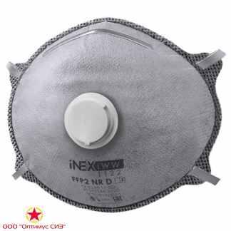 Полумаска фильтрующая iNEХ LWW 1122 FFP2 NR D c клапаном выдоха