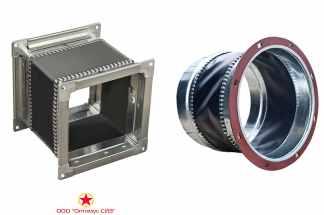 Комплект гибких вставок для ЭРВ-72-3