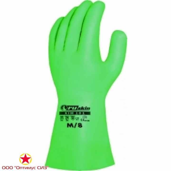 Фото Химически стойкие нитриловые перчатки Ruskin® Xim 101