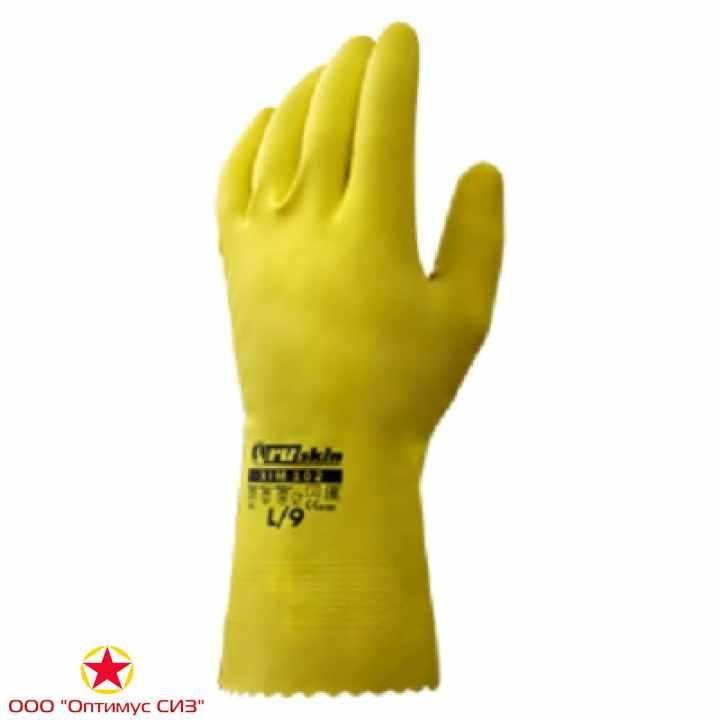 Фото Химически стойкие резиновые перчатки Ruskin® Xim 102