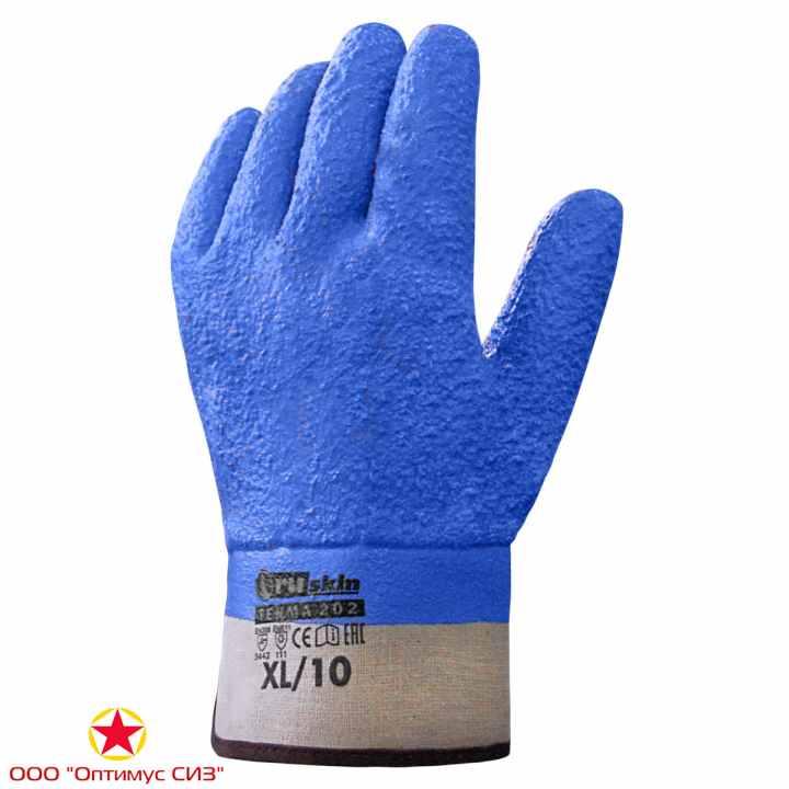 Фото Морозостойкие перчатки для тяжелых работ Ruskin® Terma 202