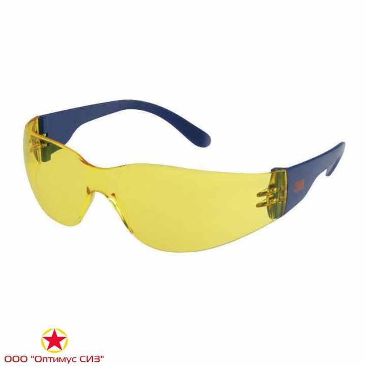Фото Очки защитные желтые 3M 2722