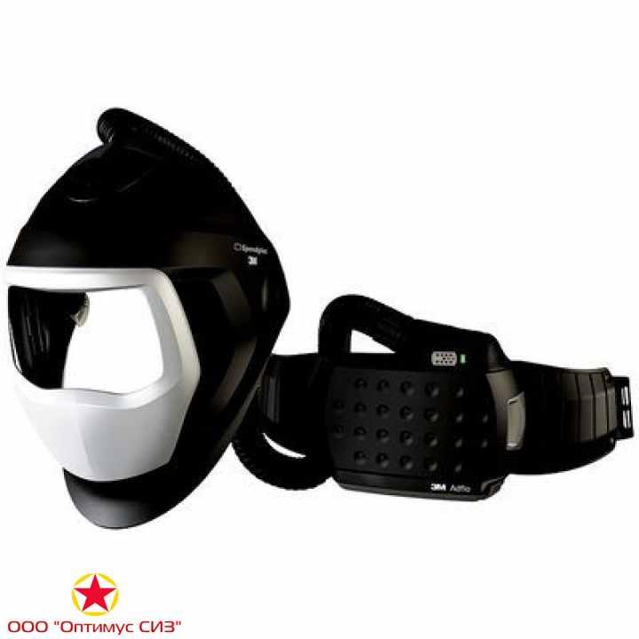 Фото Лицевой щиток сварщика 3M™ Speedglas® SG 9100 AIR c блоком ADFLO без светофильтра