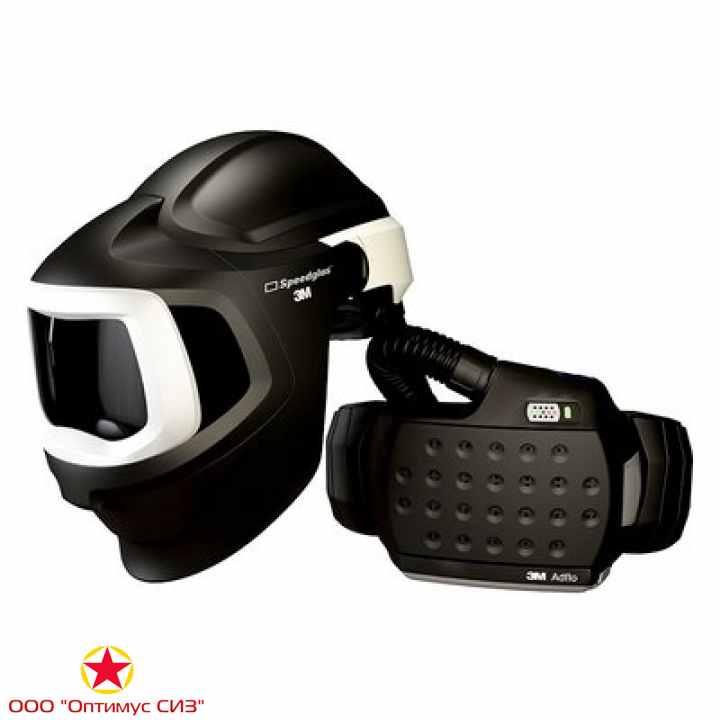 Фото Лицевой щиток сварщика 3M™ Speedglas® 9100 MP Air с Блоком Adflo без светофильтра