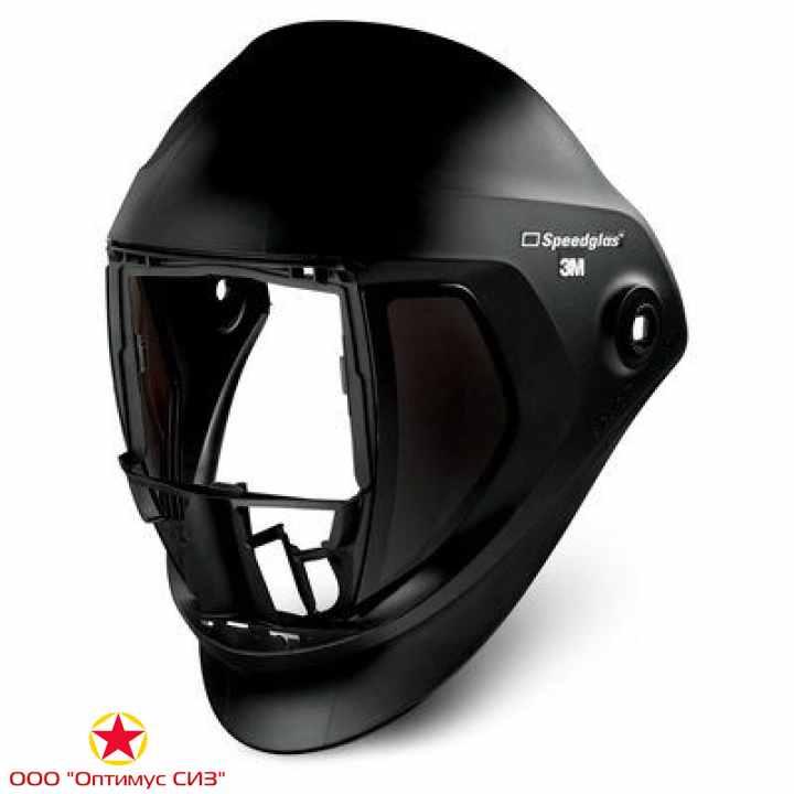 Фото Лицевой щиток сварщика 3M™ Speedglas® 9100 без светофильтра, с боковыми стеклами, с оголовьем