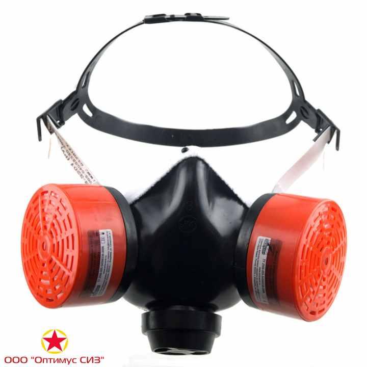 Фото Респиратор газопылезащитный БРИЗ-3201 (РУ-60м)
