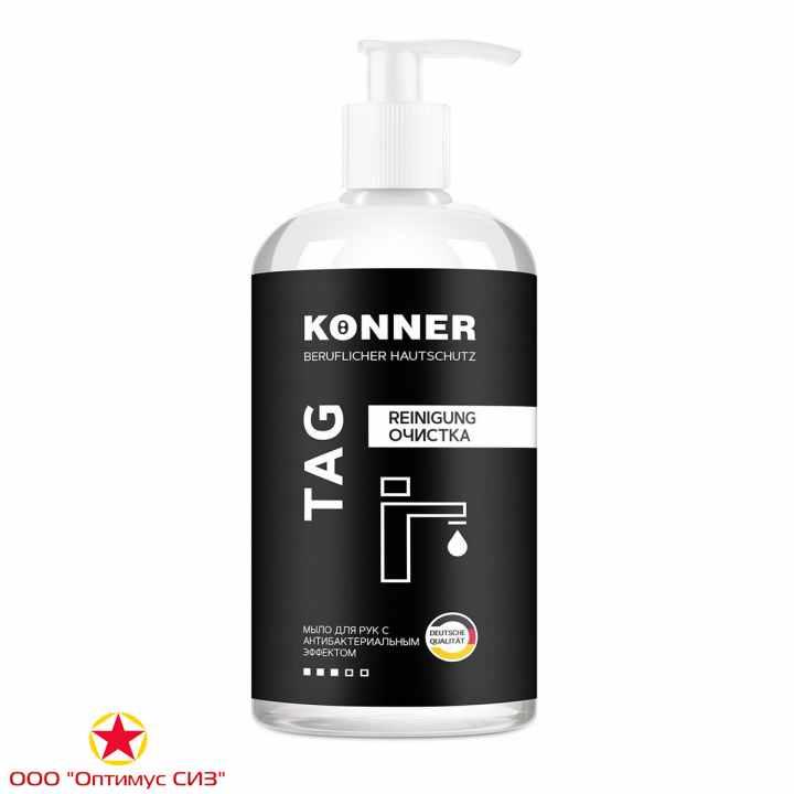 Фото Жидкое мыло для рук с антибактериальным эффектом KÖNNER TAG