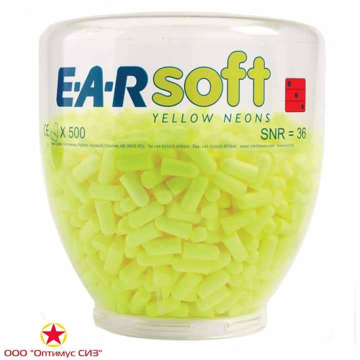 Фото Противошумные вкладыши 3M PD-01-002 EAR SOFT