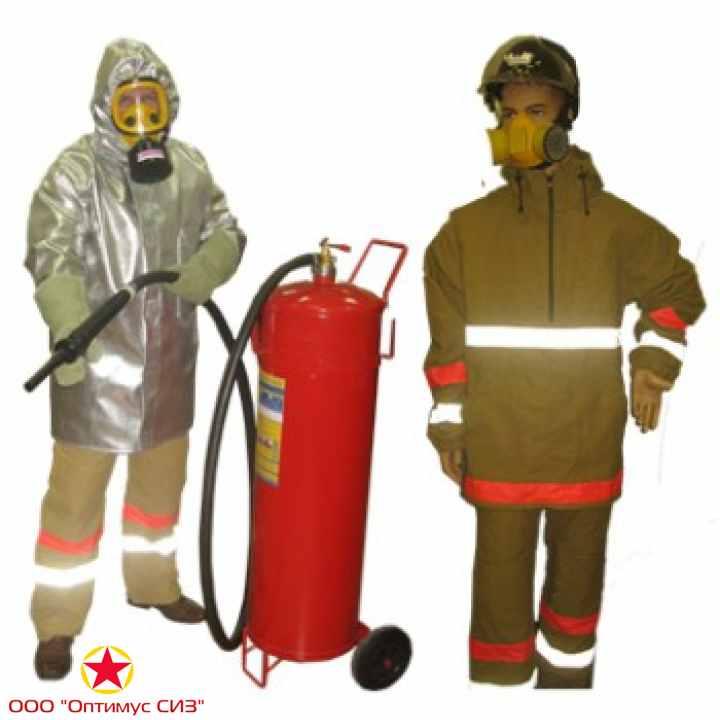 Фото Комплект защитной экипировки пожарного-добровольца (КЗЭП-Д) «Шанс»-Д»