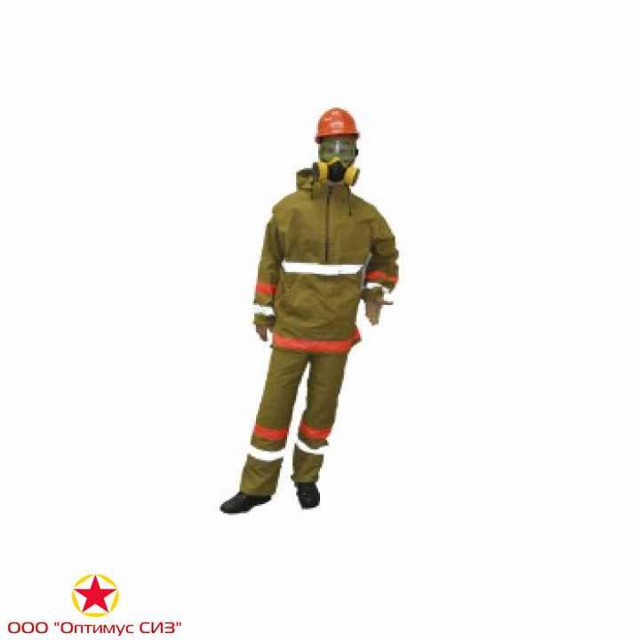 Фото Костюм термостойкий комплекта защитной экипировки пожарного-добровольца (КЗЭПД) «Шанс»-Д