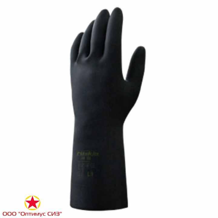 Фото Химически стойкие резиновые перчатки  Ruskin® Xim 103